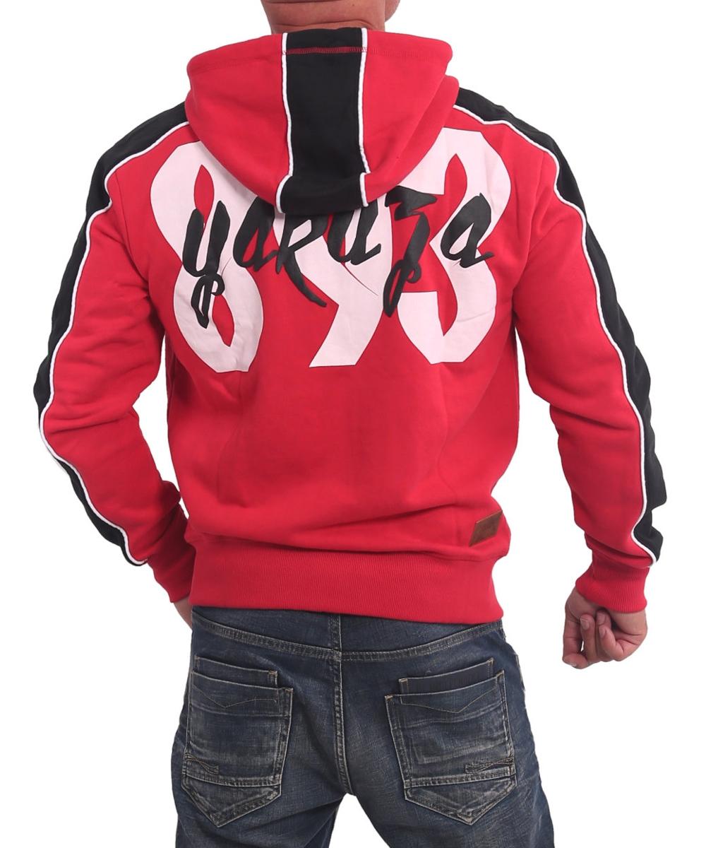 Yakuza Vintage Two Face Kapuzenjacke HZB 16006 ribbon red