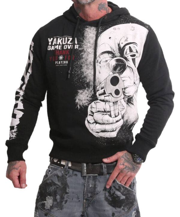 Yakuza Hating Clown Hoodie HOB-17002 black