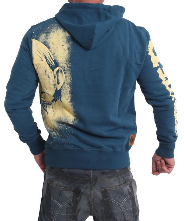 Yakuza Hating Clown Hoodie HOB-17002 mallard blue