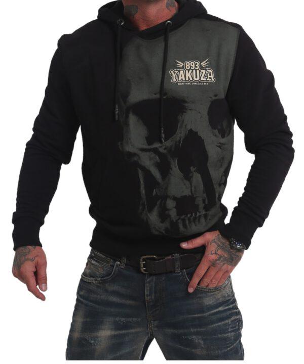 Yakuza Cuernos De Chivo Hoodie HOB 17079 schwarz