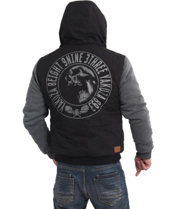 Yakuza Screaming Skull Westen Jacke JB-16057 black