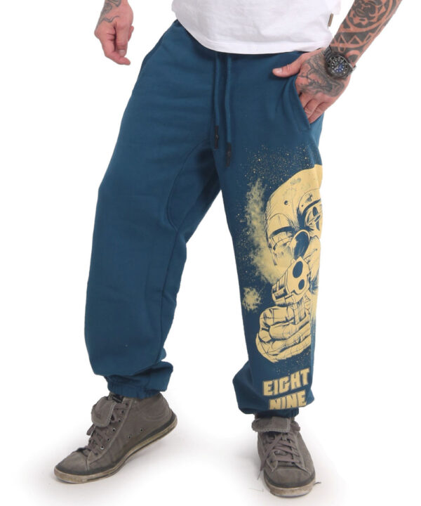 Yakuza Hating Clown Loose Jogginghose JOB-17049 mallard blue
