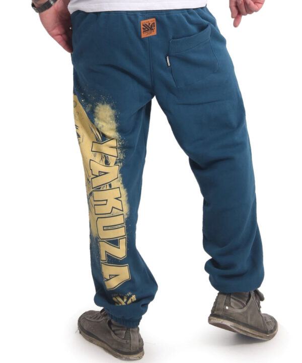 Yakuza Hating Clown Loose Jogginghose JOB-17049 mallard blue