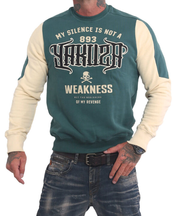 Yakuza Silence Pullover PB-16009 jasper