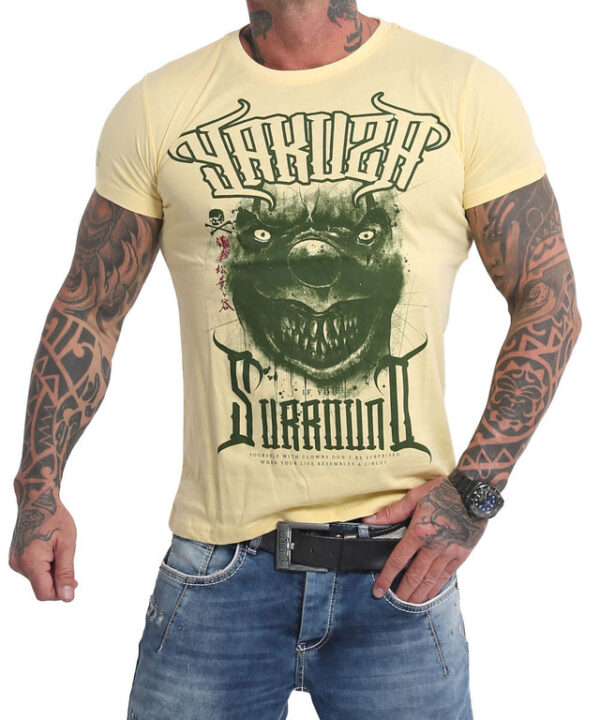 Yakuza Surround T-Shirt TSB-16025 pale banana