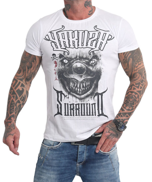 Yakuza Surround T-Shirt TSB-16025 weiß