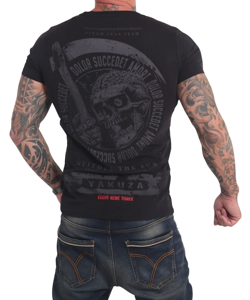 Yakuza Neither The Sun T-Shirt TSB-17037 weiß