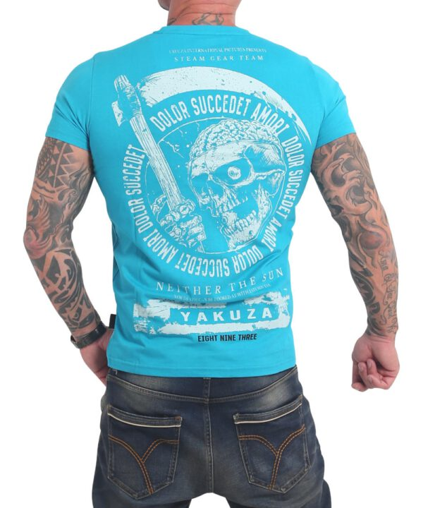Yakuza Neither The Sun T-Shirt TSB-17037 scuba blue
