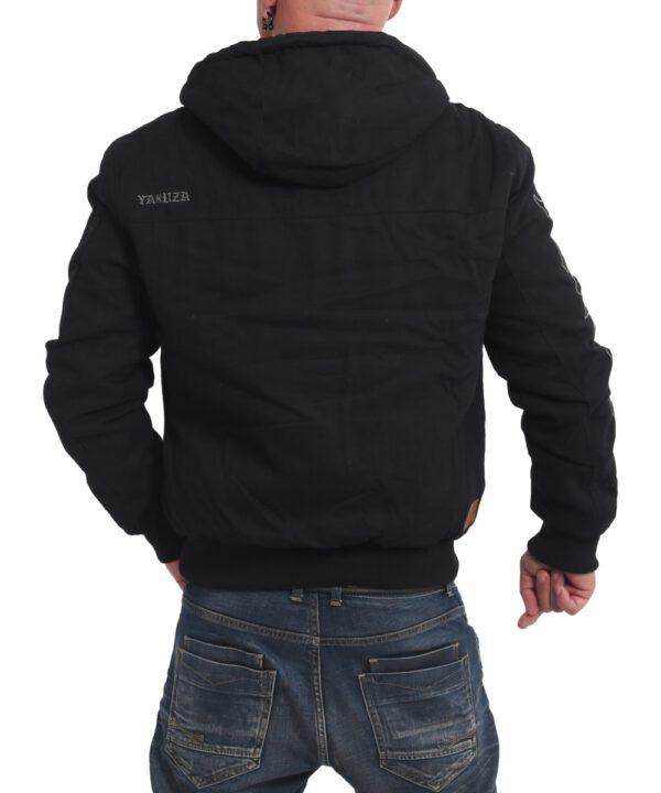 Yakuza Rookie Winterjacke WJB 16058 schwarz