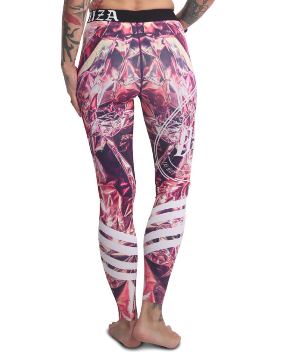 Yakuza Gold Rush Leggings LEB-17144 bunt