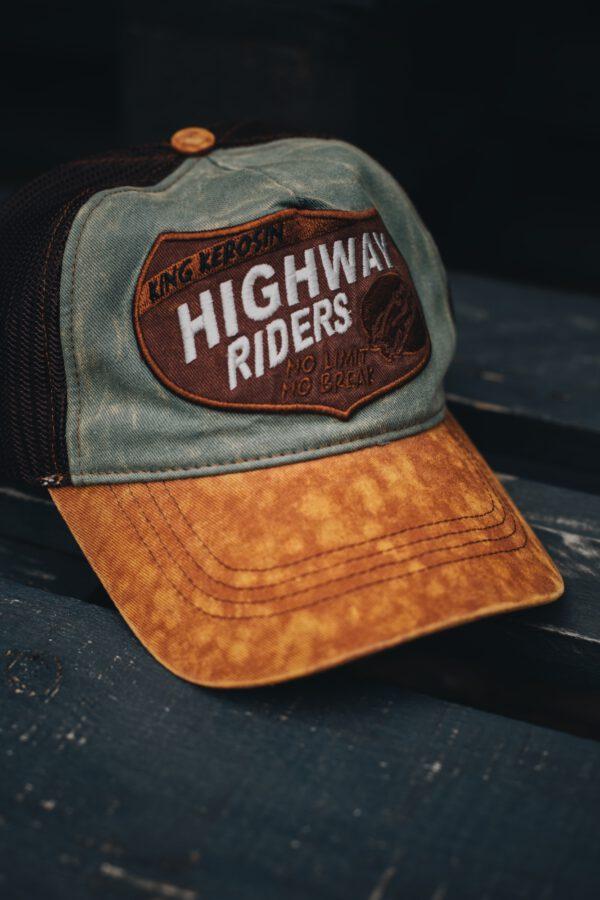 King Kerosin TRUCKER CAP »HIGHWAY RIDERS«