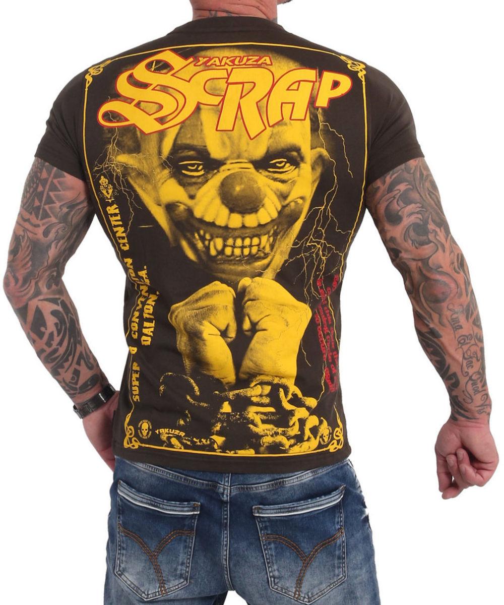 Yakuza Scrap T-Shirt TSB 105 black ink
