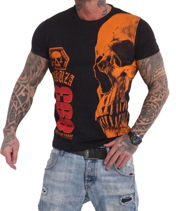 Yakuza Skull T-Shirt TSB-12015 black
