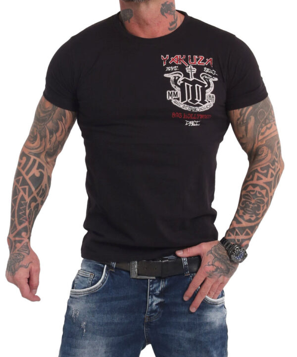 Yakuza Holy Shoot T-Shirt TSB-140 schwarz