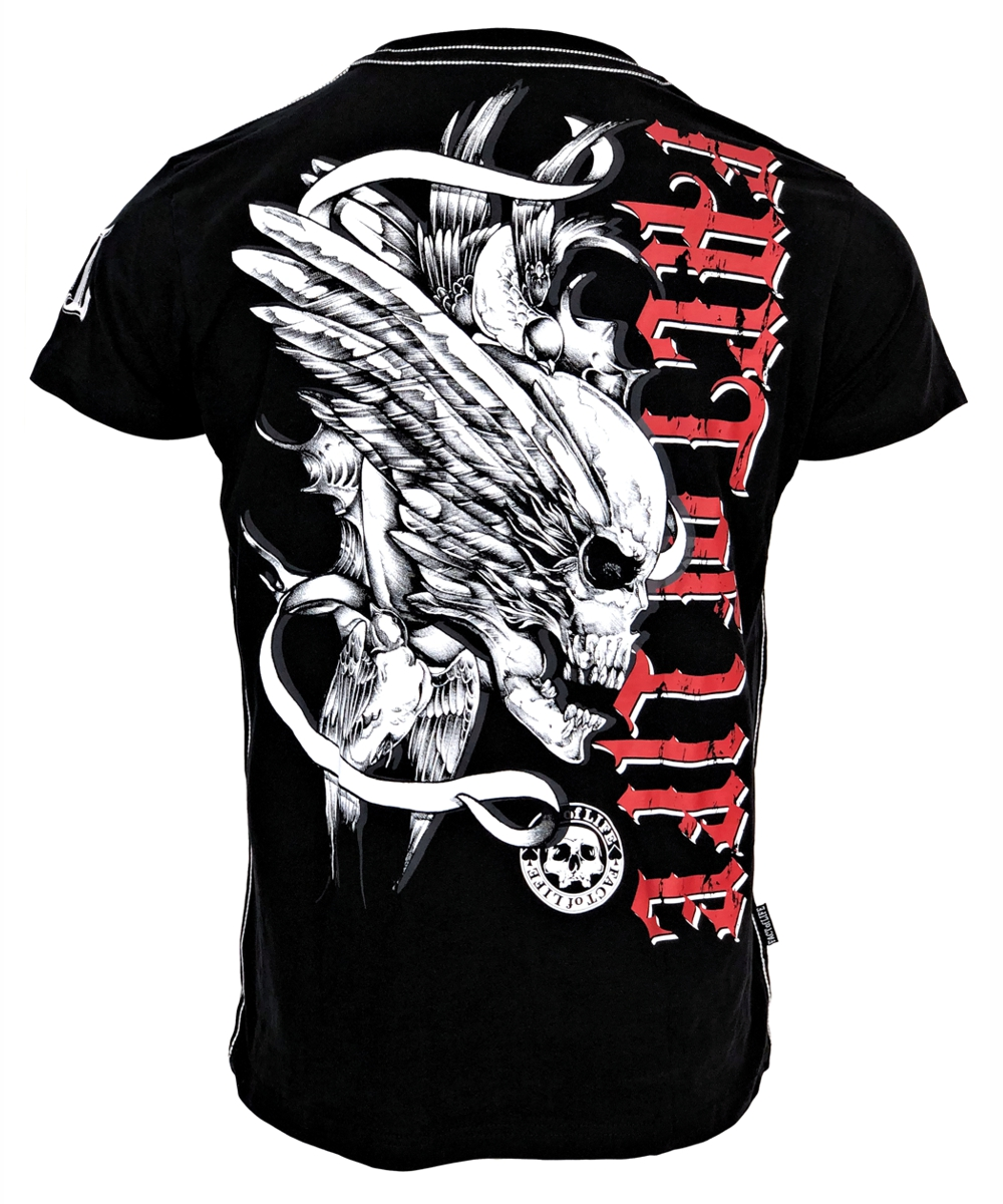 "Fact of Life T-Shirt ""Flying Skull"" TS-36 black"