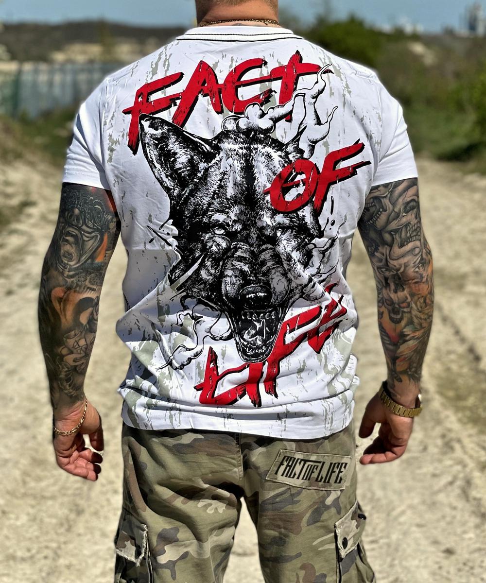 Fact of Life T-Shirt TS-42 weiß4