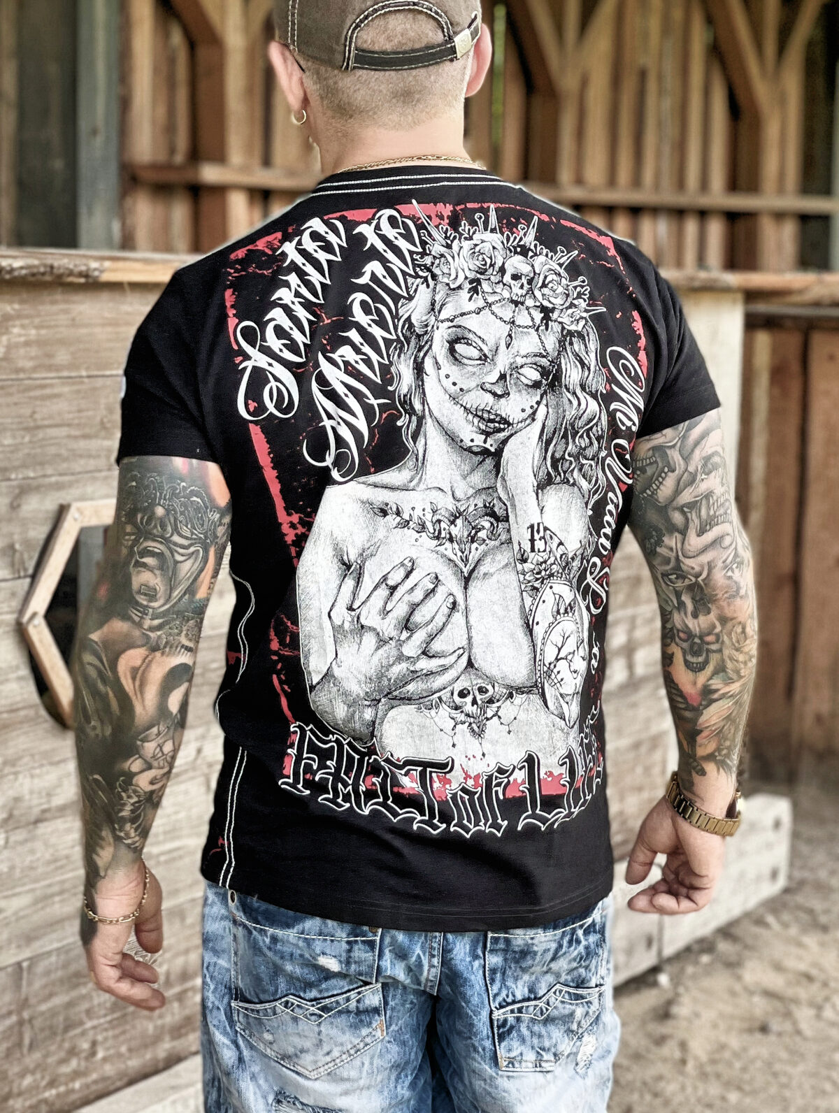 Fact of Life T-Shirt TS-39 black