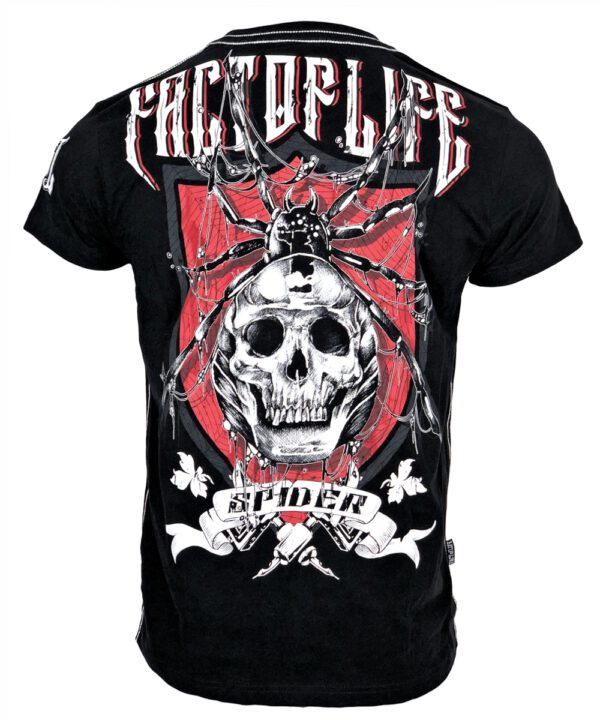 "Fact of Life T-Shirt ""Spider"" TS-44 black"