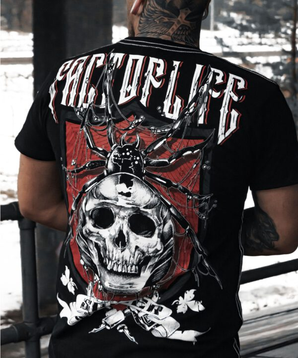 "Fact of Life T-Shirt ""Spider"" TS-44 black"