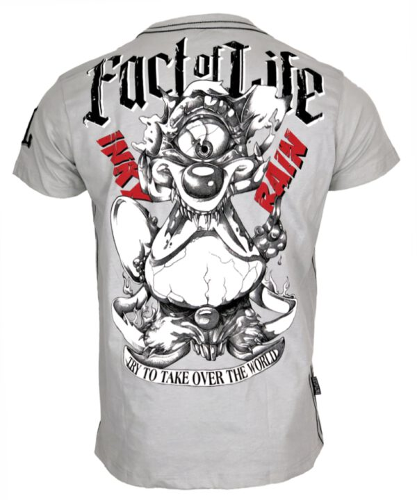 "Fact of Life T-Shirt ""Take Over"" TS-38 light grey"