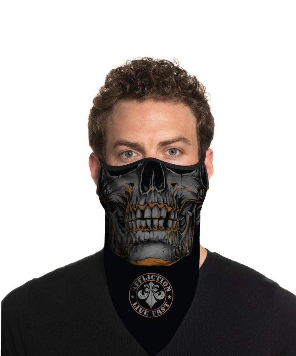 Affliction Face Mask A-23625 Garage Dust