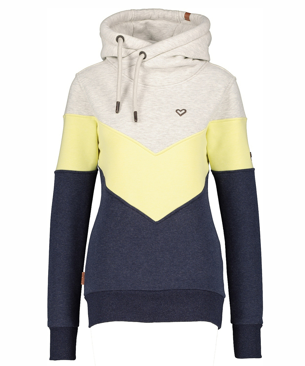 Alife and Kickin Sweat-Hoodie Stella AK pear