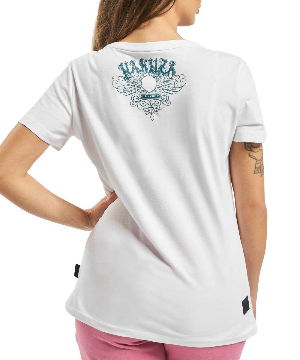Yakuza Massive V-Neck T-Shirt GSB 16125 weiß