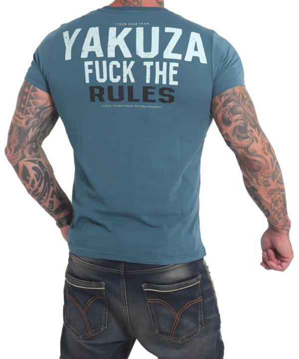Yakuza Rules T-Shirt TSB-17025 mallard blue