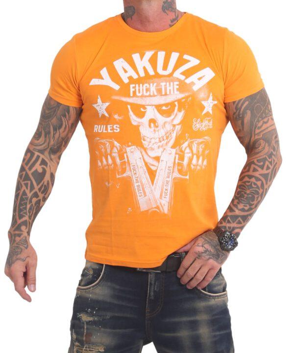 Yakuza Rules T-Shirt TSB-17025 bright mariegold