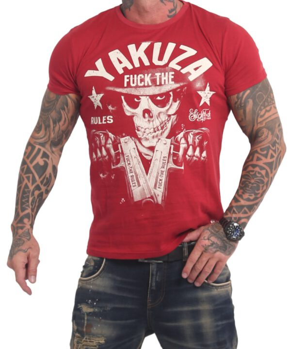Yakuza Rules T-Shirt TSB-17025 chilli pepper
