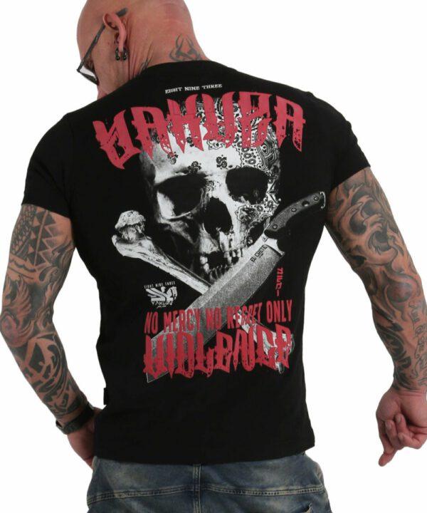 Yakuza No Mercy No Regret T-Shirt TSB-17088 schwarz
