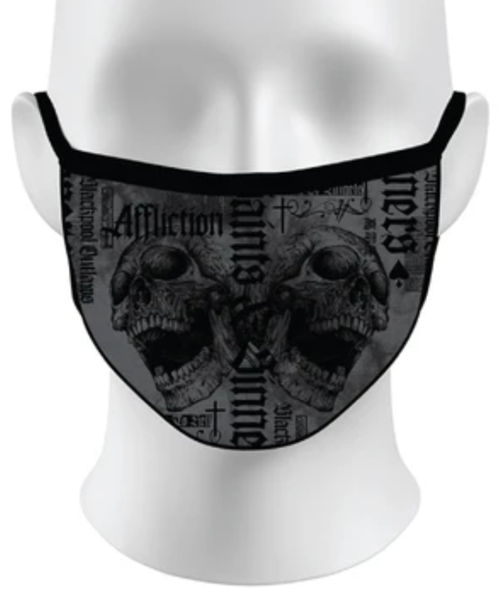Affliction Face Mask A-23597 Angel City