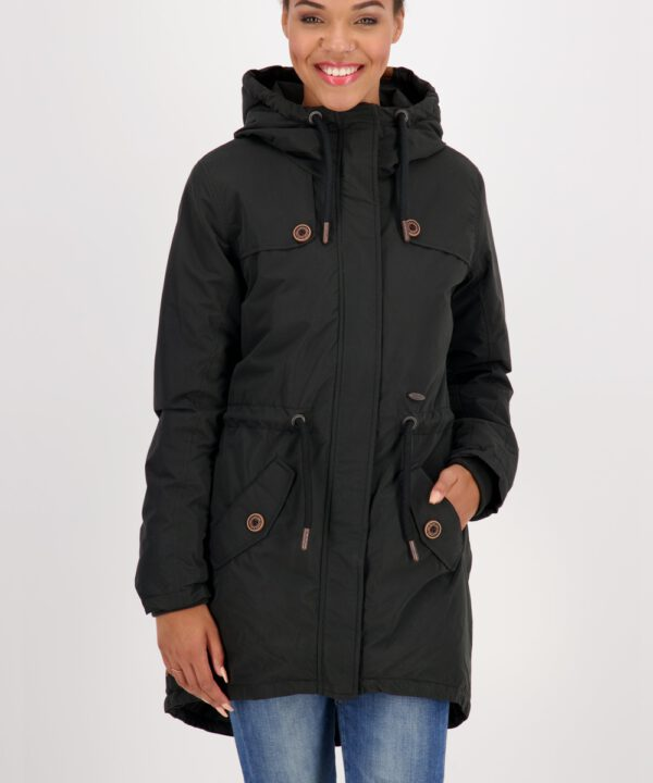 Alife and Kickin Jacke Charlotte C Coat moonless