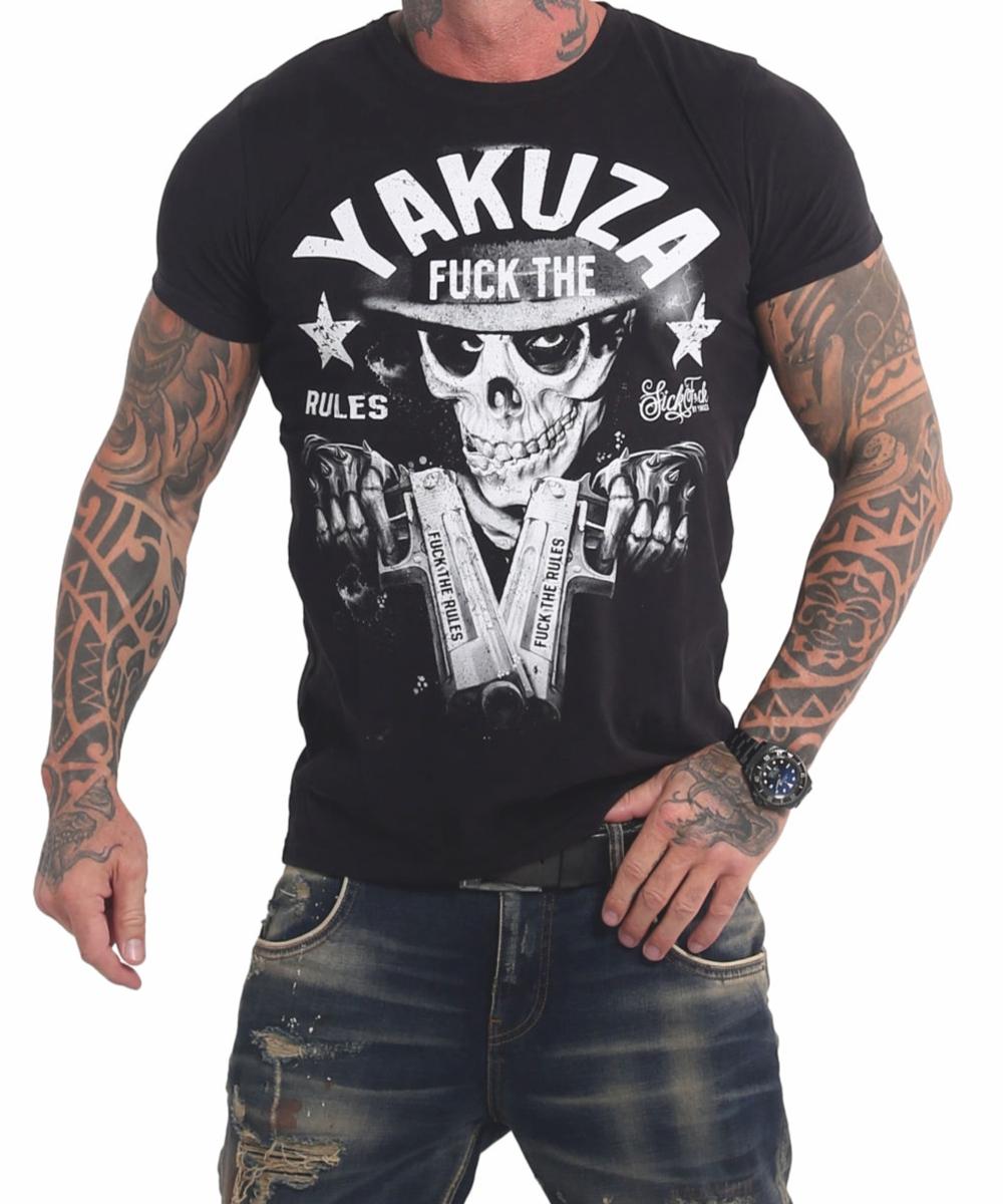 Yakuza Rules T-Shirt TSB-17025 black