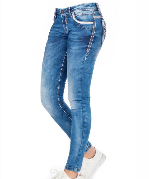 Cipo & Baxx Damen Jeans WD-343