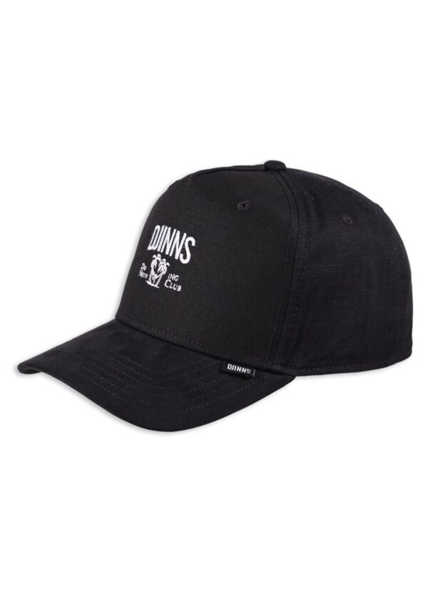 Djinns Trucker-Cap HFT DNC Mix Fabric black
