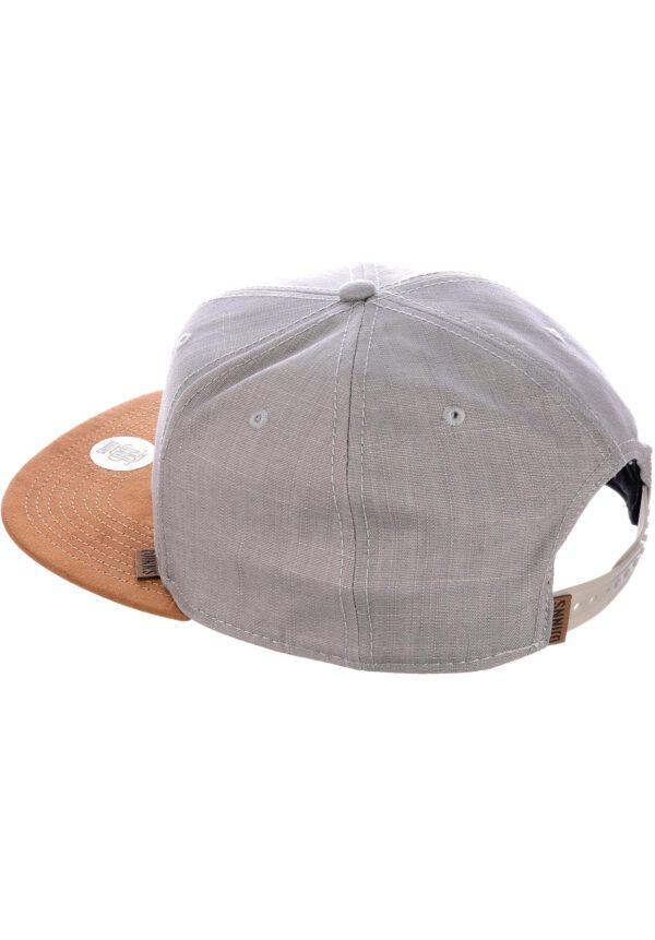 Djinns Snapback 6P SB Linen 2015 grey