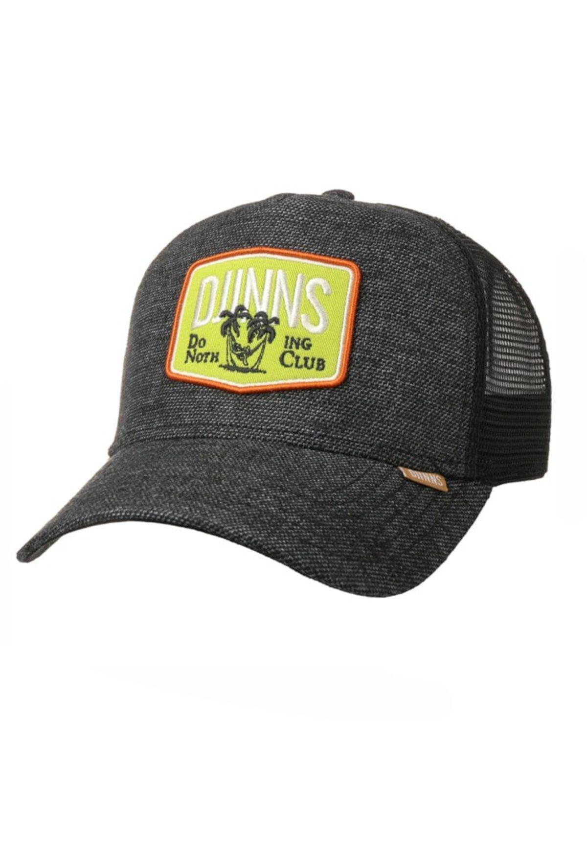Djinns Trucker-Cap HFT DNC RoughCanvas black