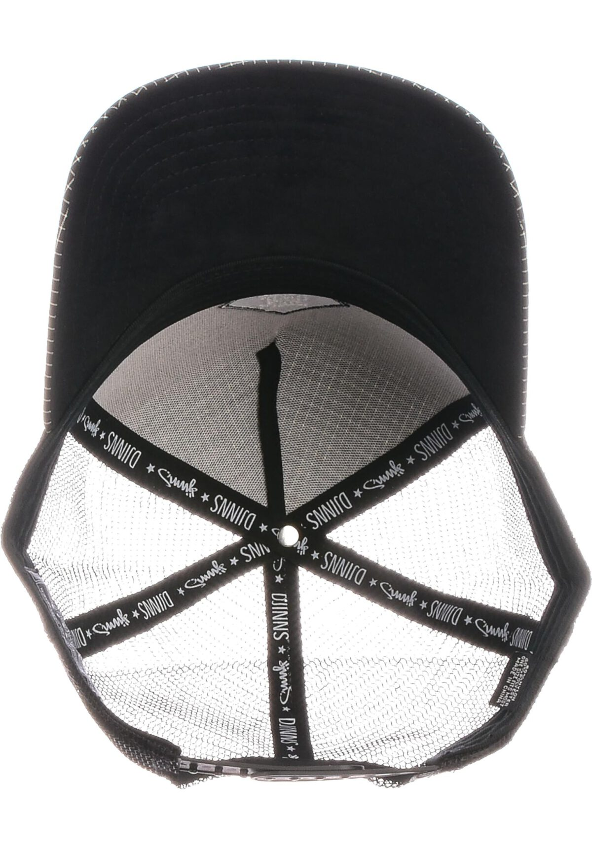Djinns Trucker Cap HFT Needle Check 2020 black