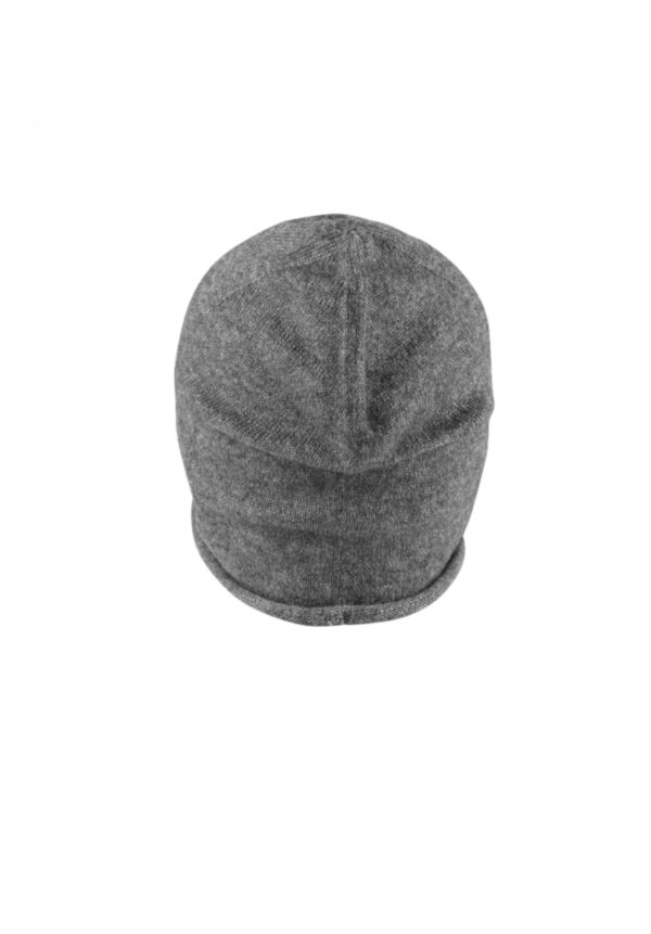 MSTRDS Cashmere Slouch Beanie charcoal grey