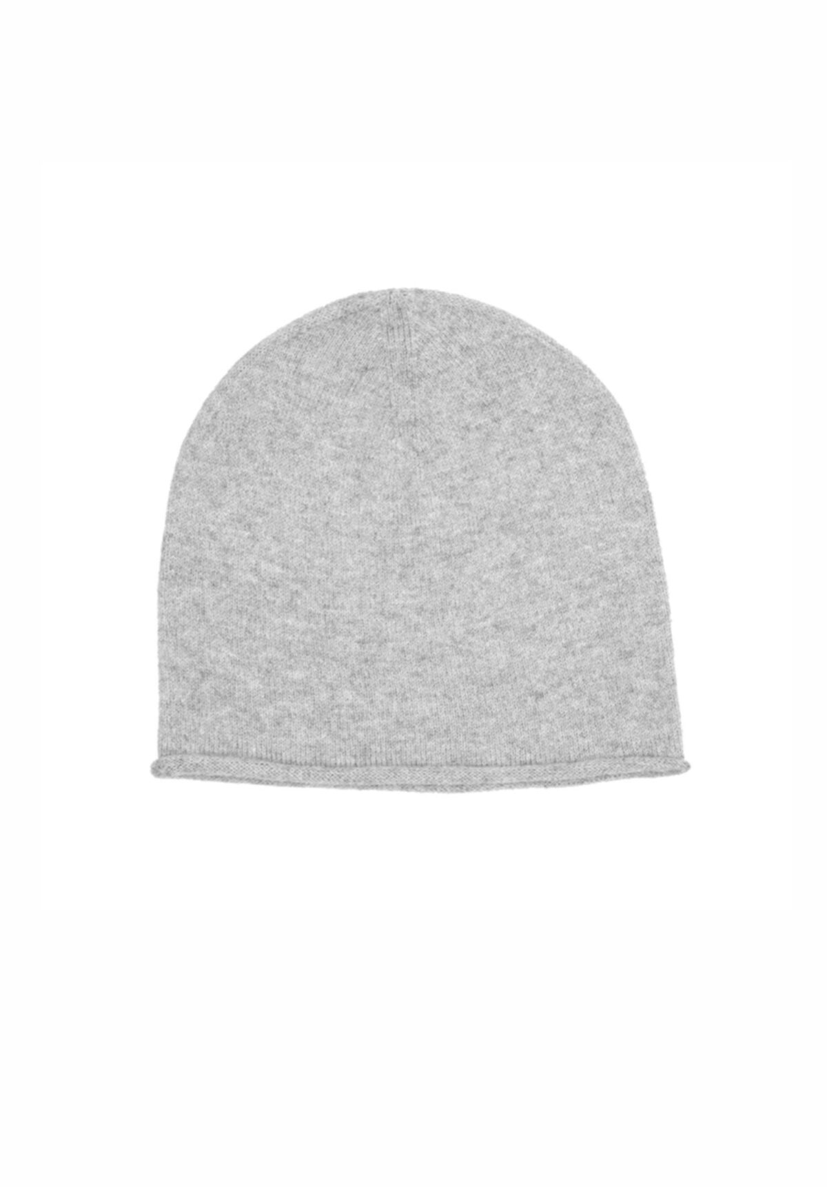 MSTRDS Cashmere Slouch Beanie light grey