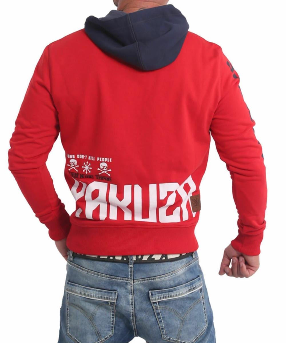 Yakuza Nippon893 Hoodie HOB-17001 ribbon red