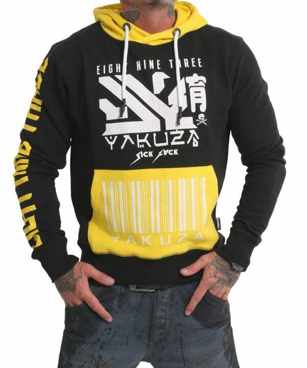 Yakuza Nippon893 Hoodie HOB-17001 schwarz