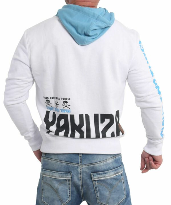 Yakuza Nippon893 Hoodie HOB-17001 weiß