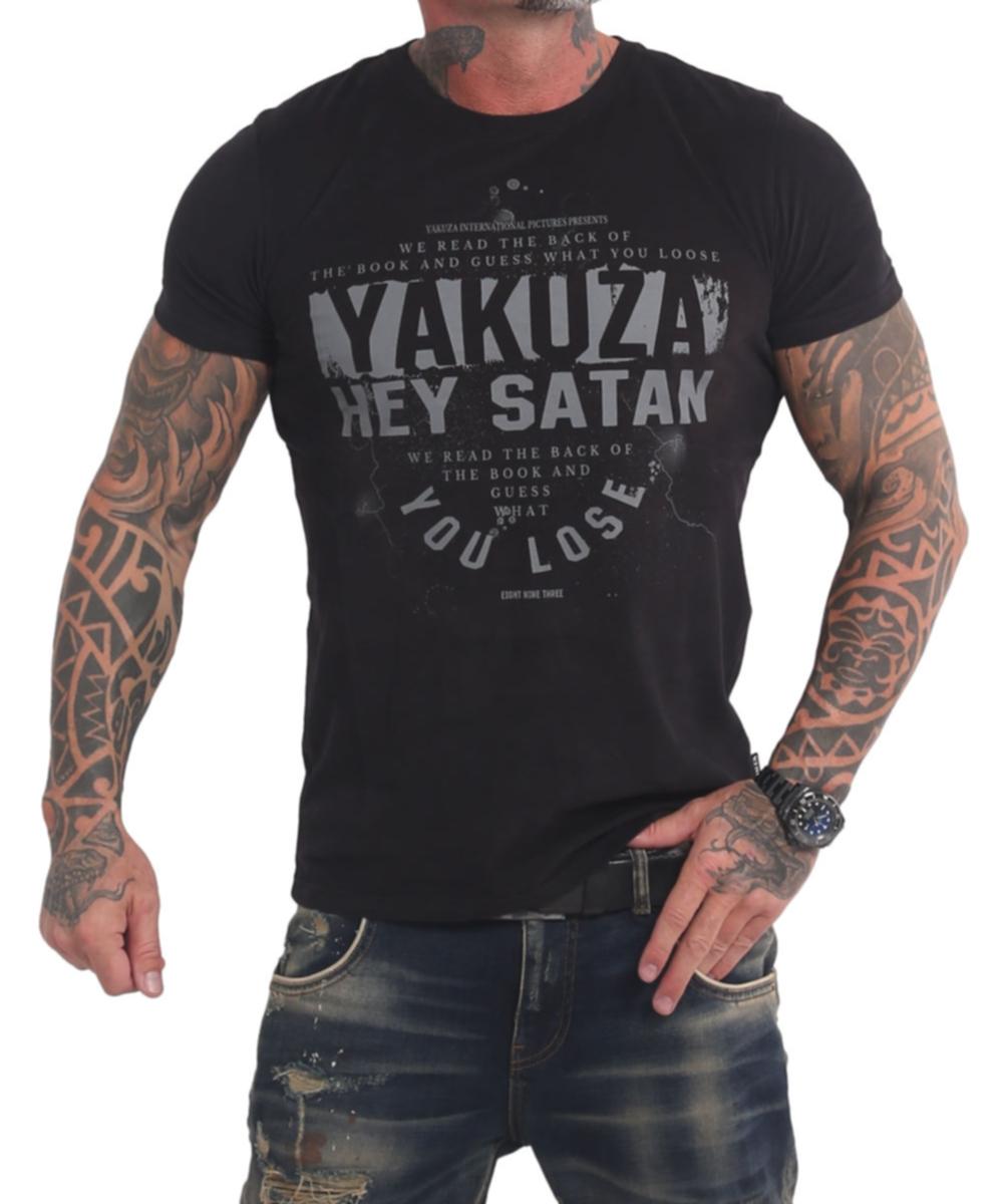 Yakuza Hey Satan T-Shirt TSB-17023 schwarz