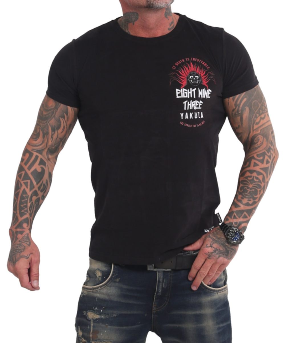 Yakuza Inevitable T-Shirt TSB-17028 schwarz