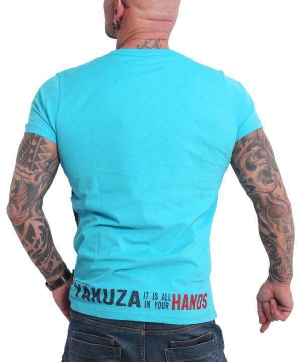 Yakuza Carnal T-Shirt TSB-17036 scuba blue