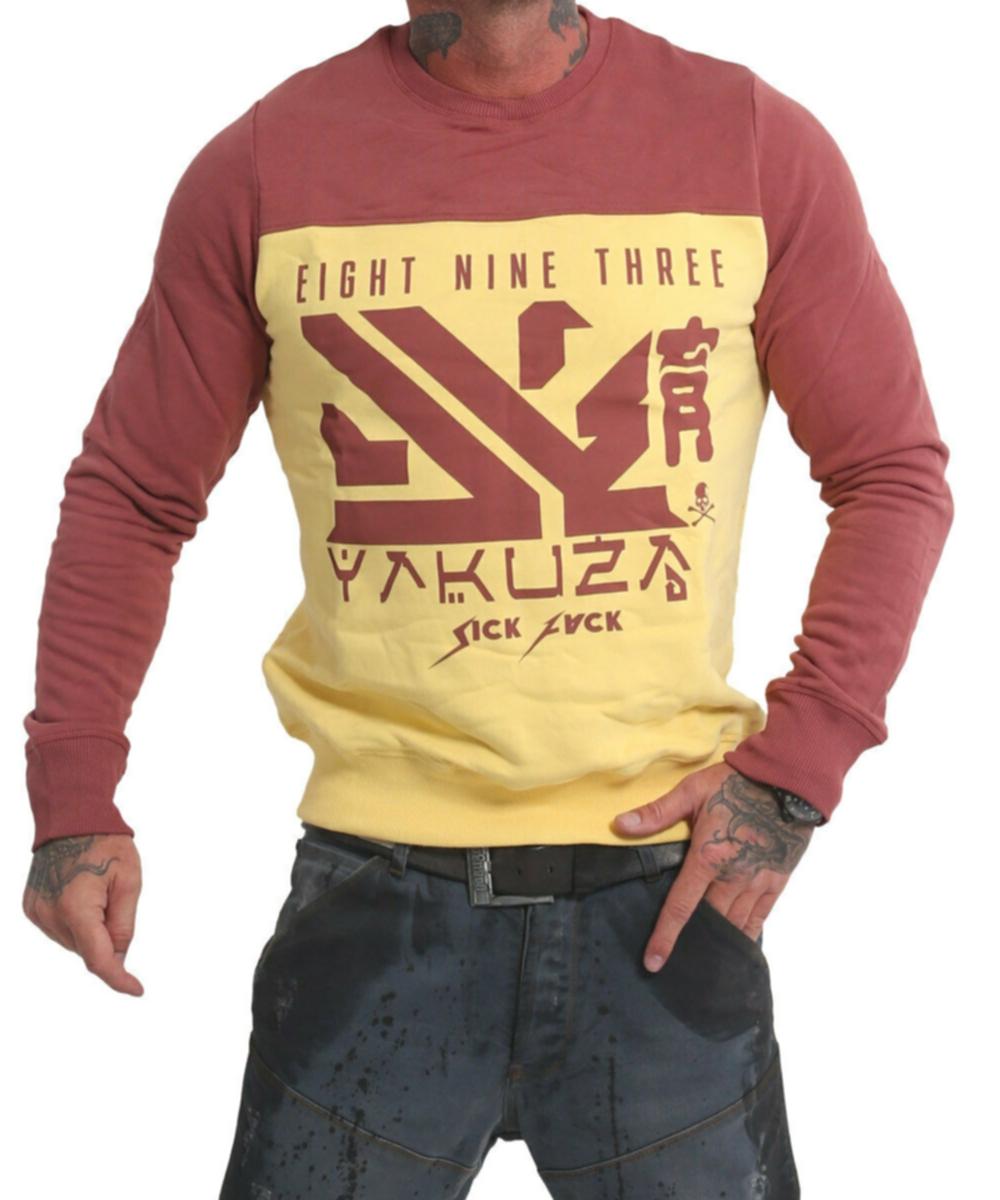 Yakuza Nippon Two Face Pullover PB 17014 pale banana
