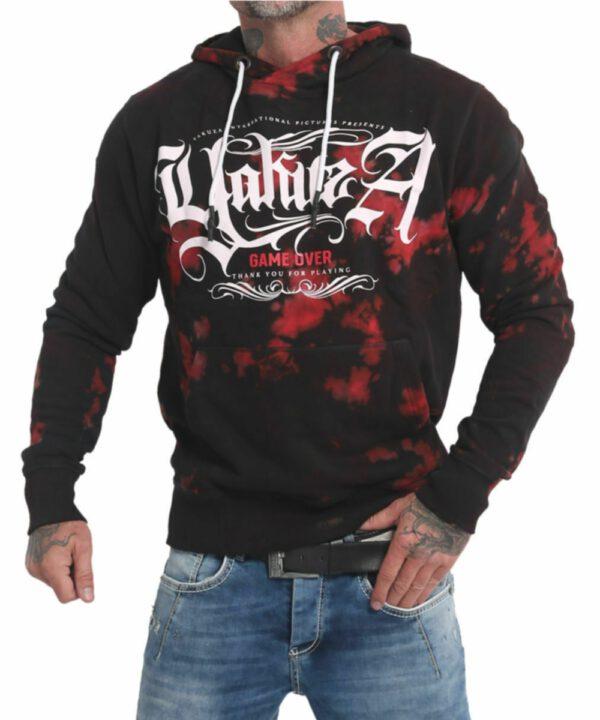 Yakuza Rules Batik Hoodie HOB-17006 black