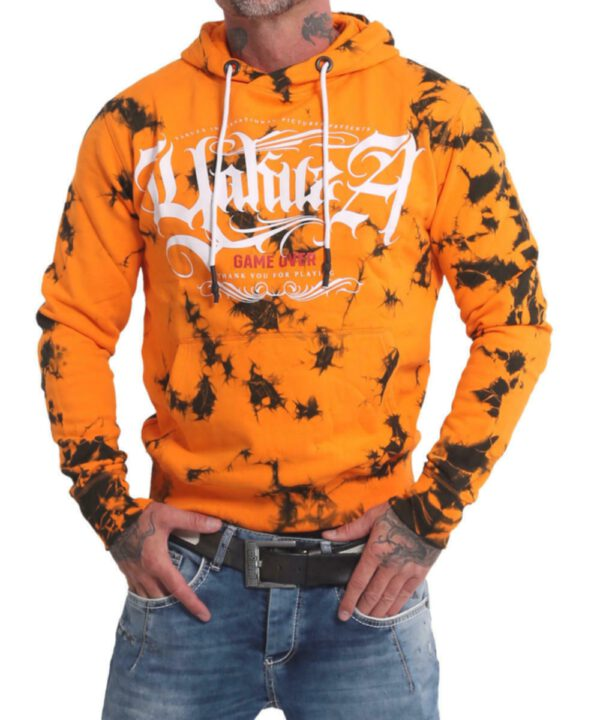 Yakuza Rules Batik Hoodie HOB-17006 bright marinegold